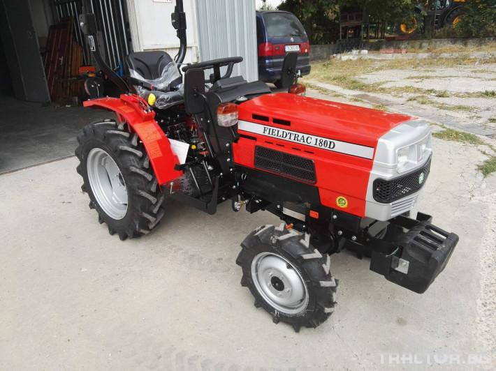 Трактори Fieldtrac 180D 0 - Трактор БГ