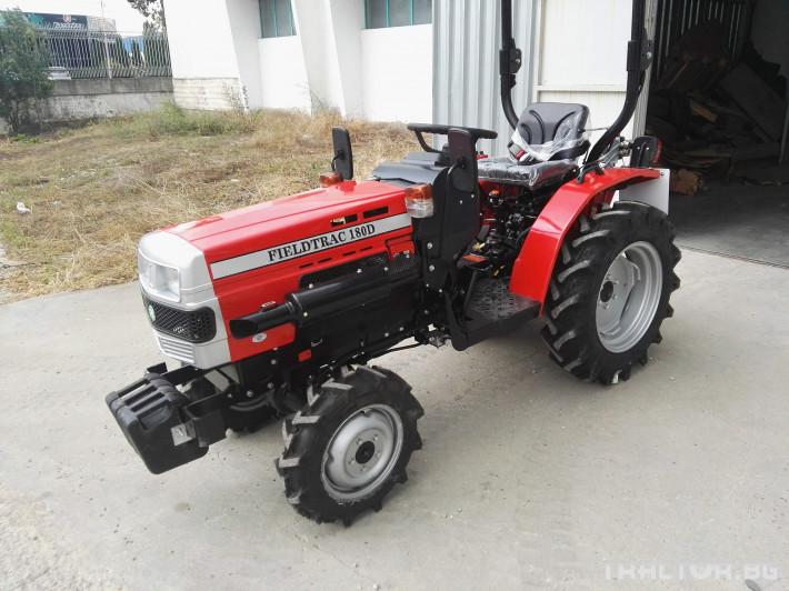 Трактори Fieldtrac 180D 1 - Трактор БГ