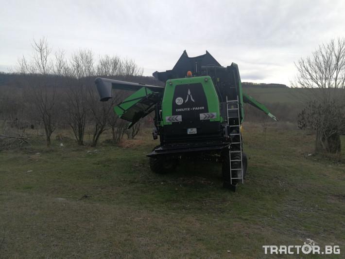 Комбайни Deutz-Fahr C7206 TSB 4 - Трактор БГ
