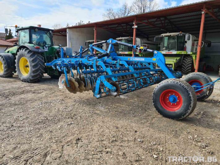 Брани Lemken KUA 9/500 7 - Трактор БГ